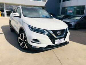 2019 Nissan Qashqai J11 Series 2 Ti X-tronic White 1 Speed Constant Variable Wagon Ravenhall Melton Area Preview