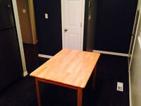 Sturdy Wood Table in Great Shape! Can Deliver!