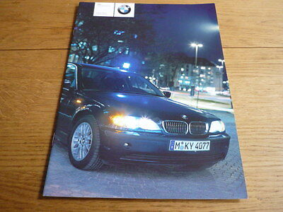 +++ NOW REDUCED +++ Rare BMW POLICE AND AUTHORITY 3 SERIES BROCHURE 2002 jm