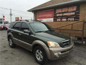 2003 Kia Sorento LX**ONLY 117KMS**4X4**LEATHER*****SUNROOF