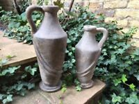 Antique French Stone Urns -2 Vases Ornaments, Sculptures,Statues immaculate condition