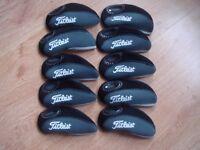 Titleist Golf Headcovers Set Of 10 New !!