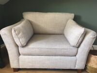 M&S Loveseat sofa