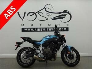 2017 Yamaha FZ 07- Stock #V2482 -No Payments for 1 Year**