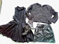 Women's job lot clothes & boots