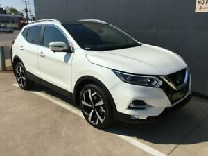 2019 Nissan Qashqai J11 Series 2 Ti X-tronic White 1 Speed Constant Variable Wagon Stuart Park Darwin City Preview