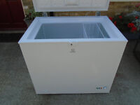 Small Indesit chest freezer