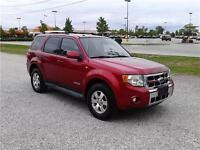 2008 Ford Escape Limited Leather Interior