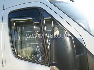 HEKO 31161 Windabweiser 2 teilig MERCEDES Sprinter W906 06-18 VW Crafter 06-17