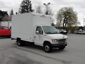 2000 FORD E-350 CUBE VAN ONLY 138000KM