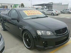 2010 Holden Ute Black Manual Utility Dandenong Greater Dandenong Preview