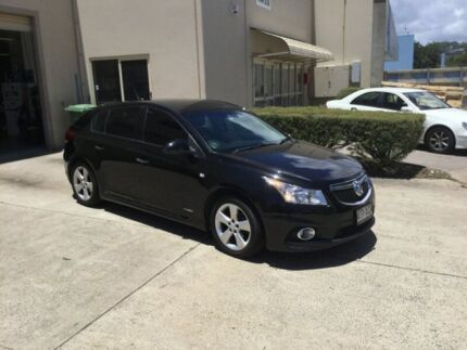 2012 Holden Cruze JH MY12 SRi V Black Metallic 6 Speed Automatic Hatchback Maroochydore Maroochydore Area Preview