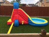 Kids Inflatable Garden Water Slide
