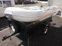 Inflatable Europa 2.7m 15Hp Volvo Outboard an Trailer an Spares