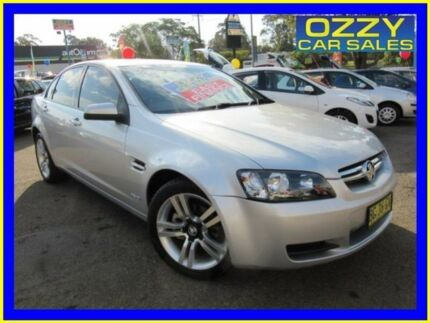 2010 Holden Commodore VE MY10 International Silver 6 Speed Automatic Sedan Penrith Penrith Area Preview