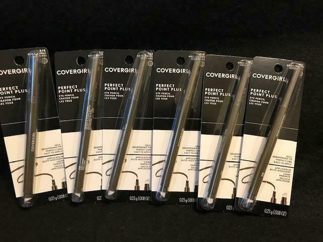 5X-COVERGIRL Perfect Point Plus Eye Liner Self Sharpening Pe