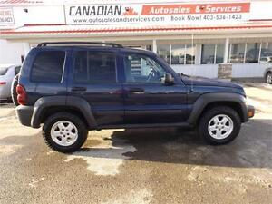 2007 Jeep Liberty Sport 4x4 only 90000 Miles! $7900
