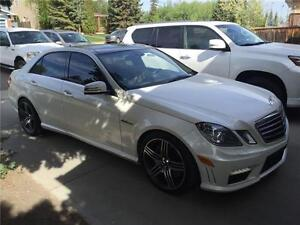 2010 Mercedes Benz E63, AUTO, LEATHER, ROOF, 72k, $39,500