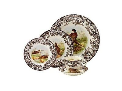 "Spode ""Woodland"" 5pc. Set - Made in England"