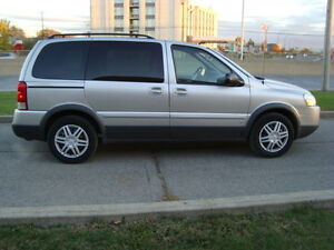 2008 PONTIAC MONTANA SV6 LS 7 PASSENGER ''ONE TAX INCLUDED'' West Island Greater Montréal image 4
