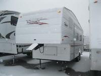WOW!!! Terry 25' Fifth Wheel with Rear Bath and 1 Slide!