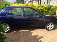Ford Fiesta Ghia, 1242 cc, 5 door, Low Mileage, Ideal runaround, repairs or spares