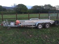Car Transporter Trailer Brian James 2600kg Max