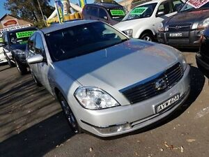 2006 Nissan Maxima J31 ST-L Silver 4 Speed Automatic Sedan Campbelltown Campbelltown Area Preview
