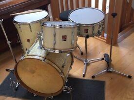 VINTAGE 1960's Premier Drum Kit