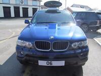 BMW X5 3.0d Sport Exclusive Edition Auto (blue) 2006
