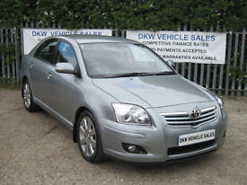 TOYOTA AVENSIS 2.0 D-4D TR 5DR SAT NAV 6SP MANUAL / ONE OWNER / 80K FSH 8 STAMPS
