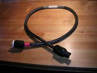 *Reduced* 10 AWG Audiophile mains power cord.