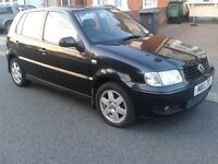 VW Polo 1.4 SE - 5 Speed Manual - BlACK - Topf of Range - VGC