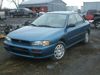 PARTING OUT: 1997 SUBARU IMPREZA