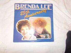 Vinyl LP Brenda Lee 25th Anniversary – Brenda Lee MCA MCLD 609 Stereo