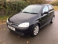 Vauxhall Corsa Sri 1.4 5 door 12 months mot cheap small car