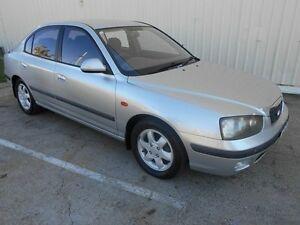 2001 Hyundai Elantra XD GLS Silver 5 Speed Manual Sedan Kippa-ring Redcliffe Area Preview