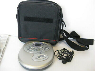 Audiovox Portable Radio (Audiovox personal portable cd player digital tune fm/am radio 40 ESP case buds )