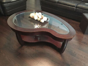 Kidney Shaped Coffee Table for Sale