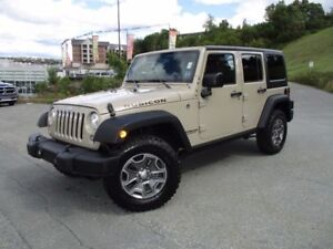 2017 Jeep WRANGLER RUBICON UNLIMITED (ONLY 16000 KMS! 4X4, 3.6L
