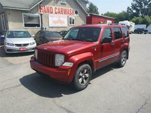 2008 Jeep Liberty Sport 4x4!! AS-IS