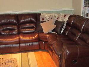 Large Sectional and 3 Drawer Dresser