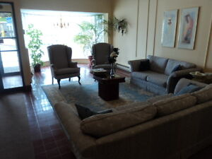 Excellent 2 bedroom condo with balcony and underground parking