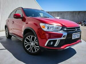 2018 Mitsubishi ASX XC MY18 LS 2WD Red 6 Speed Constant Variable Wagon Canning Vale Canning Area Preview