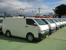 2012 Toyota Hiace KDH201R MY12 Upgrade LWB White 5 Speed Manual Van Canada Bay Canada Bay Area Preview