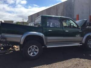 WRECKING 2002 SR5 Toyota Hilux KZN Dual Cab 4x4 Turbo Disel Werribee Wyndham Area Preview