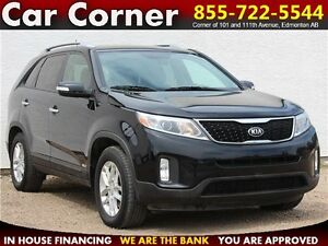 2014 Kia Sorento LX $123 B/W! CLEAN AWD SUV w/LOW KM + WARRANTY!