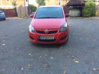ZAFIRA 1.8 SRI XP SPARES OR REPAIRS 59 PLATE
