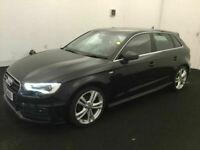 Audi A3 2.0TDI 150 Sportback Auto Diesel S Line BUY FOR ONLY £45 A WEEK, FINANCE