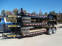 Easy Loading Tilt Trailer